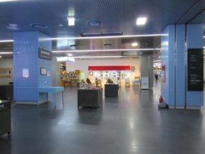 ソウル市庁舎の地下です。展示や小さな催し物ができる明るい空間です