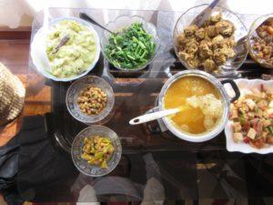 昼食はお世話になった方のお家でネワール料理を頂きました。大変おいしかったですね