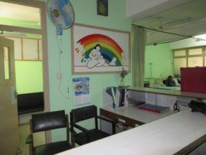 全国の医療生協の協力でできた母子センターは健在でした